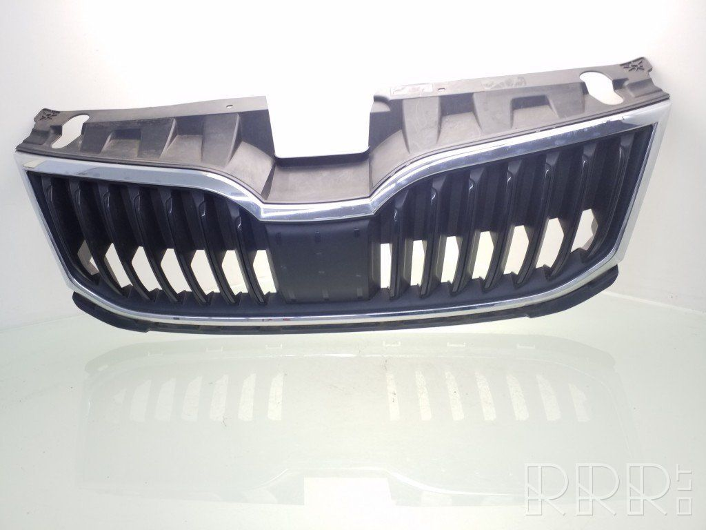 Ara79310 Skoda Octavia Mk3 5e Front Bumper Upper Radiator Grill 5e0853653a 5e0807724a Used Car Part Online Low Price Rrr Lt
