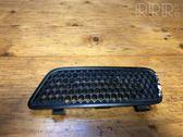Front bumper upper radiator grill