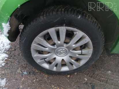 Mazda 2 R 15 kaltinis ratlankis (-iai)