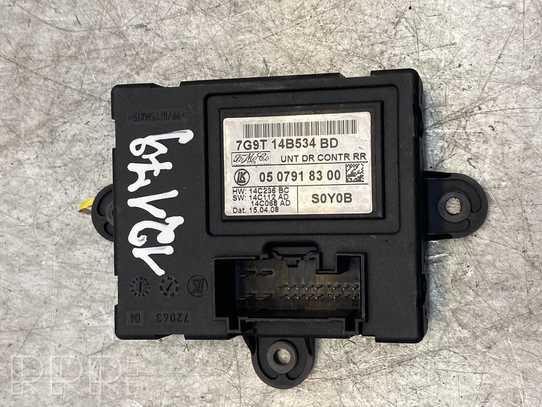 Ford Mondeo MK IV Durų elektronikos valdymo blokas 7G9T14B534