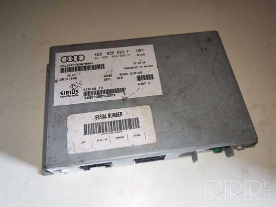 Audi A6 S6 C6 4F Multimedijos kontroleris 4E0035593F