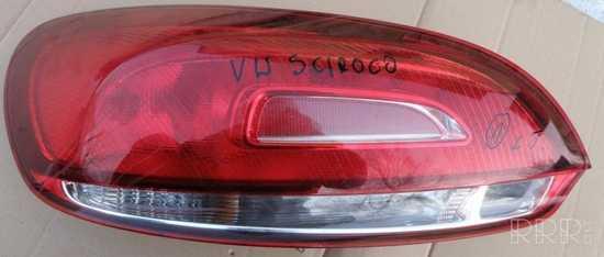 Volkswagen Scirocco Galinis žibintas kėbule